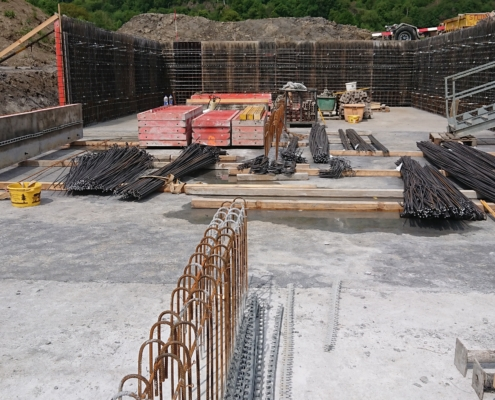 Neubau Güllenkasten