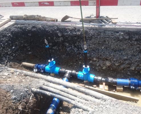 Werkleitungsbau für Wasserversorgung